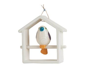 VD 69 BIRD HOME UCCELLINO (H 15 X L 16 CM)